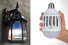 Светодиодная лампочка-ловушка, от комаров и насекомых Zapp Light