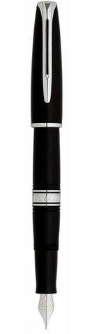 *Перьевая ручка Waterman Charleston, цвет: Black/CT, перо: F (13011 F)