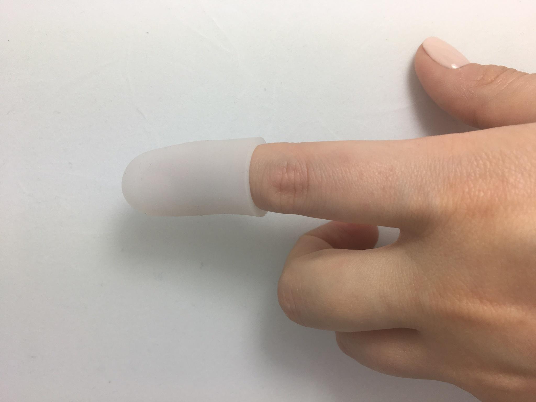 Гелевые напальчники-колпачки на пальцы рук ,1 пара