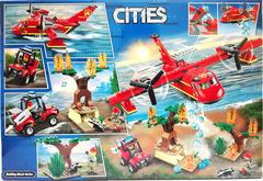 Конструктор Lari 11214 City «Пожарный самолёт»  381 дет