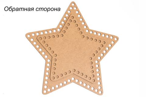 """Дно """"Звезда"""" деревянное ХДФ"""