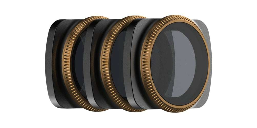 Набор фильтров PolarPro VIVID для DJI Osmo Pocket вид сбоку