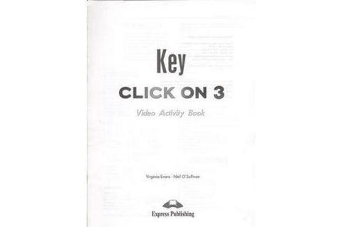 Click on 3 video activity key