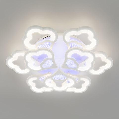 Светодиодный потолочный светильник с пультом управления 90141/9 белый