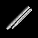 Carandache Ecridor Golf PP (F) латунь палладиевое покрытие перо сталь (958.506)