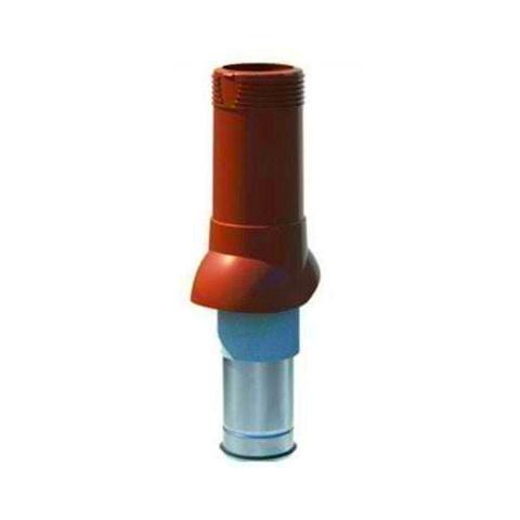 Вентиляционный выход Технониколь d 125 160 красный