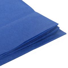 Бумага тишью, темно-синяя 76 Х 50 см, 10 листов 28 г/м