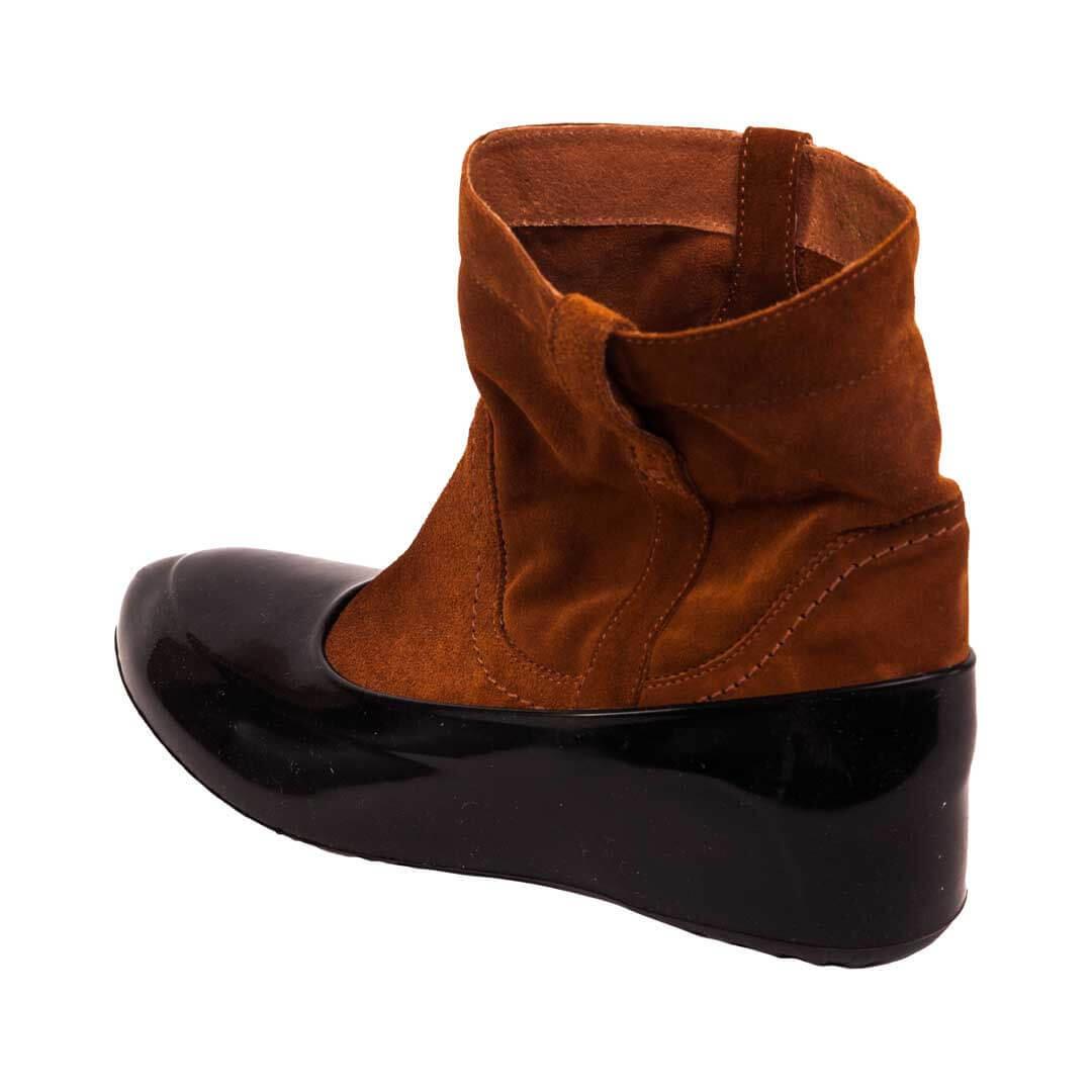 Женские галоши на обувь черные