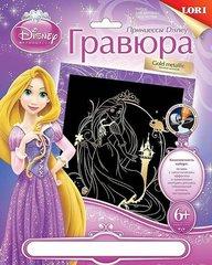 Qravyura Disney Princess antistress böyük qızıl