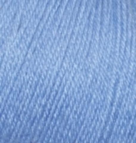 Пряжа Baby wool ( Alize) 40 Голубой