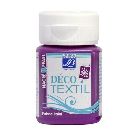 Краска по ткани Lefranc&Bourgeois DECO TEXTIL 50 мл 743, перламутровый индийский розовый