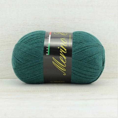 Пряжа Merino Extra (Мерино экстра) Темно-зеленый