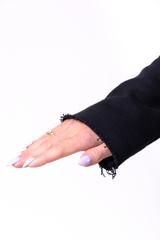 Женский кардиган Nebbia tail coat jacket 681 black