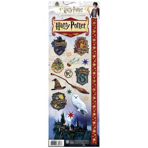 Стикеры 12 х30 см-Paper House Cardstock Stickers -Harry Potter
