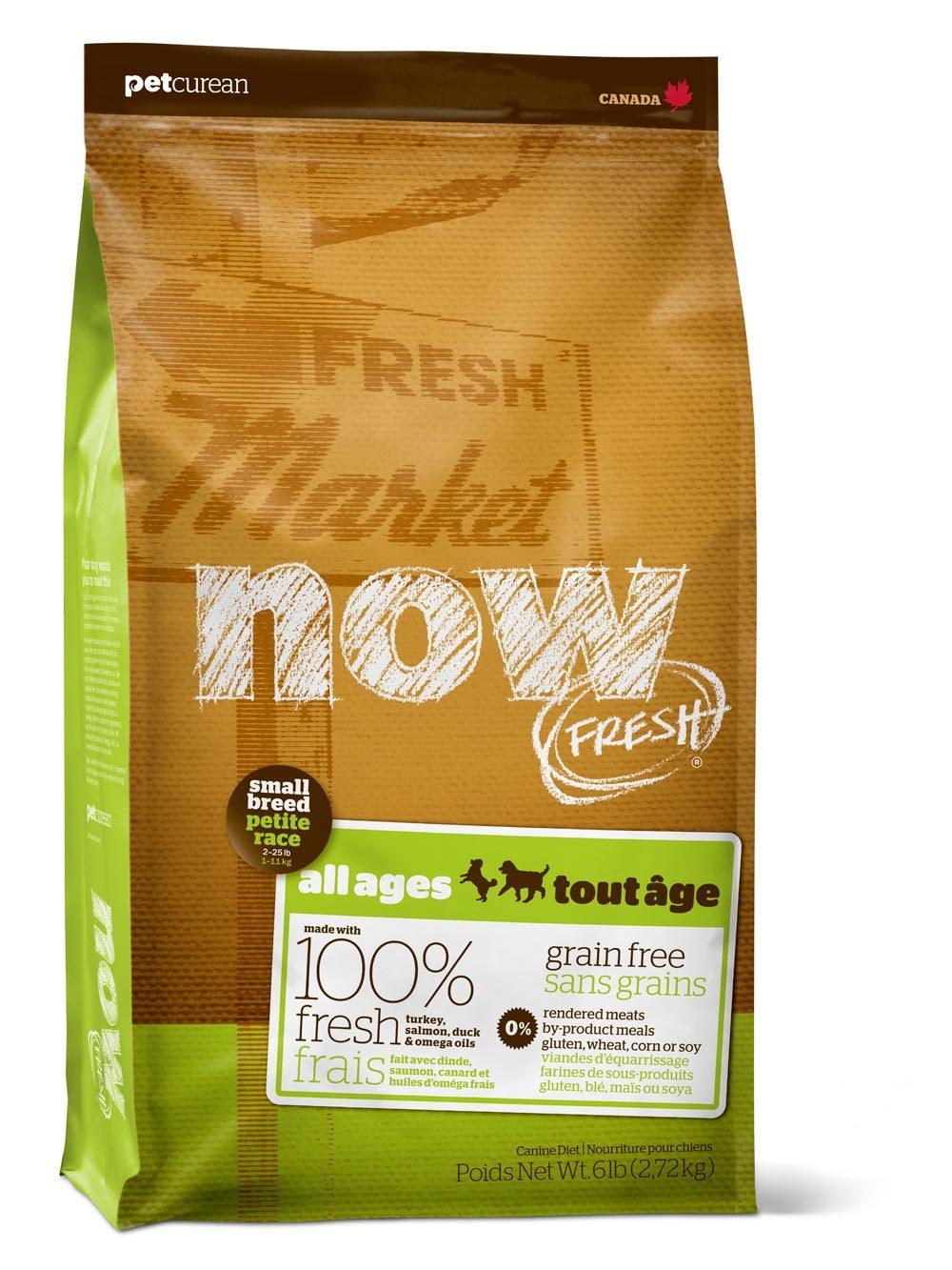 Сухой корм Беззерновой корм для взрослых собак мелких пород, NOW FRESH, с индейкой, уткой и овощами 2700_9.jpg
