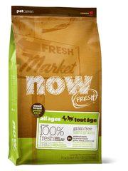 Беззерновой корм для взрослых собак мелких пород, NOW FRESH, с индейкой, уткой и овощами