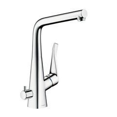 Смеситель для кухни с вентилем для посудомоечной/стиральной машины Hansgrohe Metris 14888000 фото