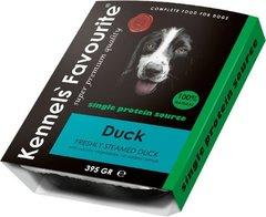 Влажный корм для собак всех пород и возрастов Kennels Favourite 100% Duck Свежепареное мясо с уткой