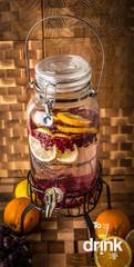 Диспенсер для напитков на подставке «Cold Drink», 3.5 литра, фото 4