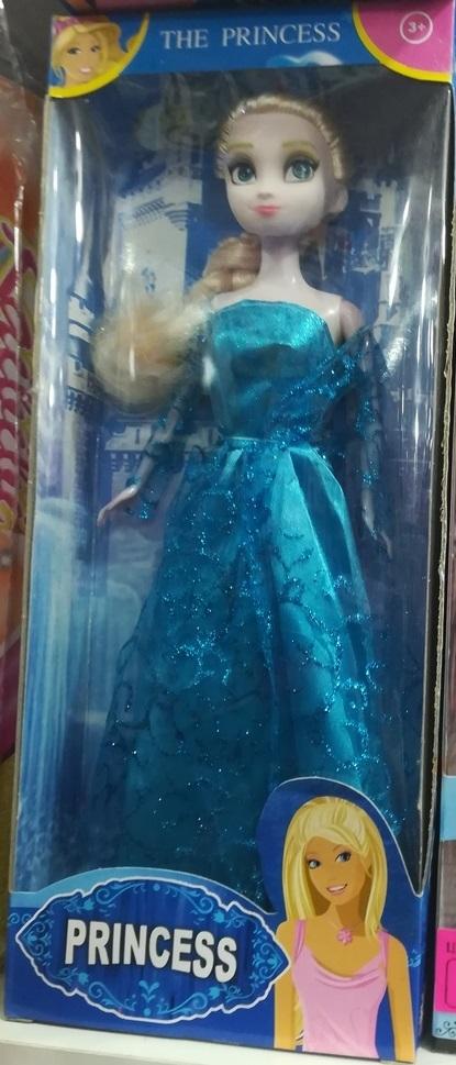 Принцесса в голубом платье
