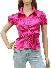 C1-3 блузка малиновая