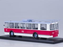 ZIU-682B trolleybus Mosgorstrans museum with operating rod Start Scale Models (SSM) 1:43