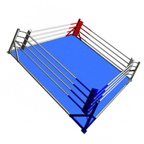 Боксёрский ринг напольный на упорах 4x4 TOTALBOX Р 58-4