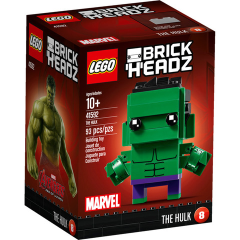 LEGO BrickHeadz: Халк 41592 — The Hulk — Лего БрикХедз