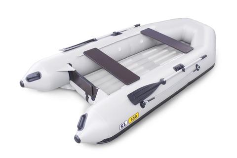 Надувная ПВХ-лодка Солар SL - 330 (светло-серый)