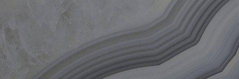 Плитка настенная Agat серая 200x600 60082