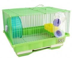 N1 Клетка для хомяка 30*23*21 без домика