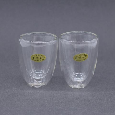 Чашка стекло 2 слоя, 70 мл