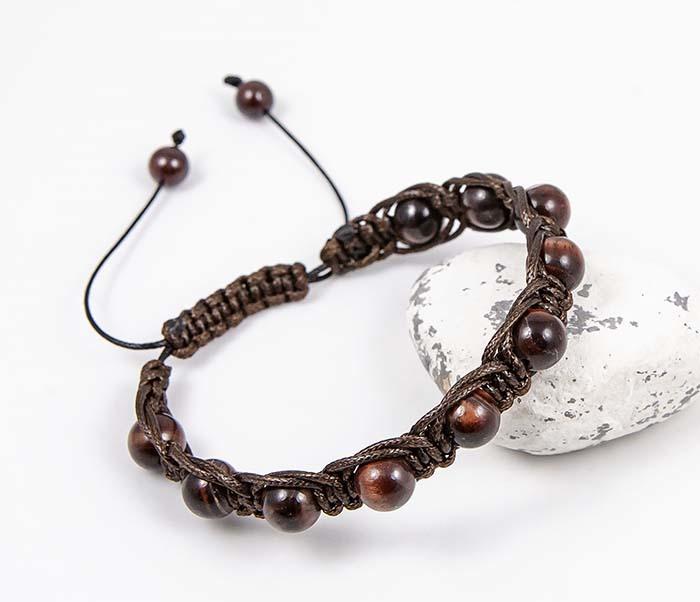 Boroda Design, Браслет шамбала ручной работы из бычего глаза
