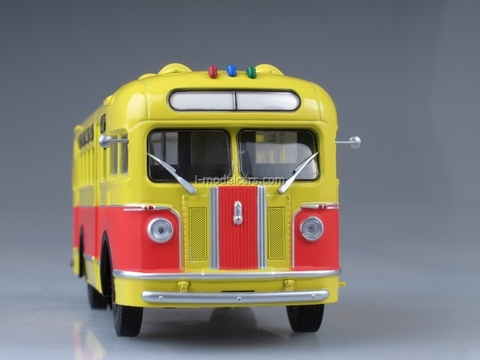 ZIS-155 red-yellow 1:43 AutoHistory