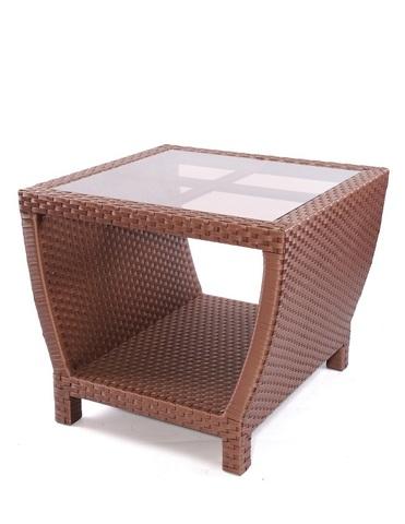 """Стол """"Парадиз"""" с тонированным стеклом"""