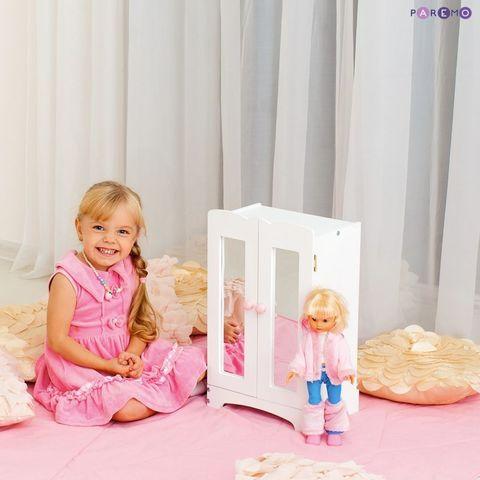 Кукольный шкаф, цвет Белый