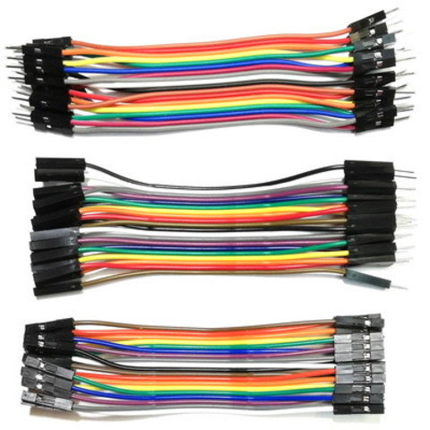 Набор шлейфов 3 типов по 20 проводов