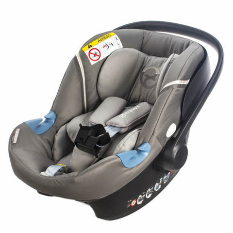 Автокресло Cybex Aton M + Base Manhattan Grey