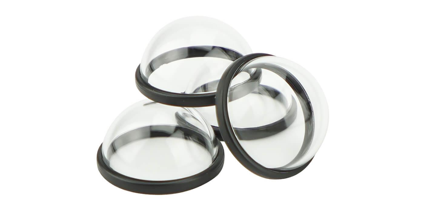 Набор защитных линз для камеры GoPro MAX (ACCOV-001) 3 шт. вид сбоку
