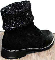 Черные ботинки женские Kluchini 5161 k255 Black