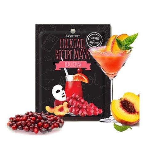 Маска на тканевой основе для лица BERRISOM Cocktail Recipe Mask Peach Crush 20 гр