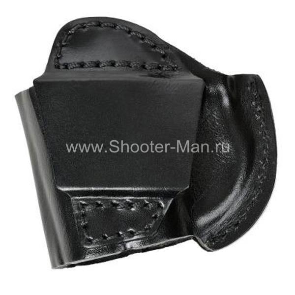 Кобура кожаная поясная для пистолета Оса ПБ-4 ( модель № 7 ) Стич Профи