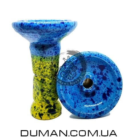 Чаша GrynBowls для кальяна |Collon Green-Blue