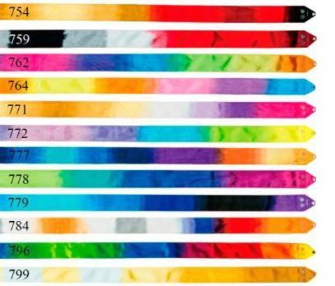 Лента CHACOTT градиентная 5 м (цвет 722-796)