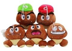 Супер Марио мягкие игрушки Гумба