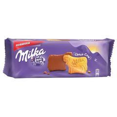 """Печенье """"Milka"""" в молочном шоколаде 200г"""