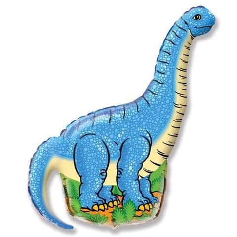 Шар фигура Динозавр Диплодок, 109 см