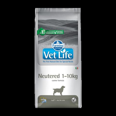 Farmina Vet Life Dog Neutered Лечебный сухой корм для кастрированных или стерилизованных собак весом до 10 кг