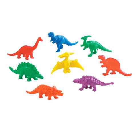 Счетный материал фигурки Динозавры, Edx education 13036C