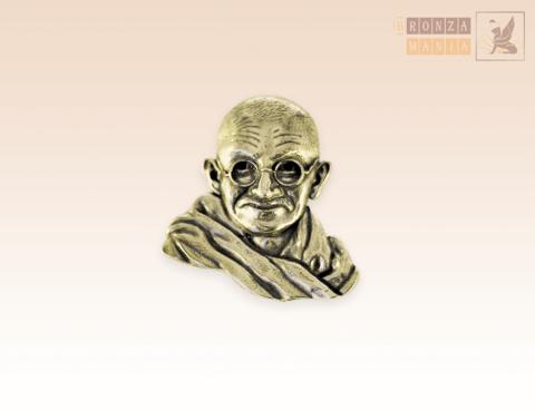 значок Махатма Ганди
